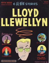 Cover Thumbnail for Lloyd Llewellyn (Fantagraphics, 1986 series) #5