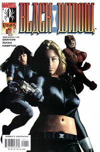Cover Thumbnail for Black Widow (Marvel, 2001 series) #1