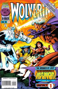Cover Thumbnail for Wolverine (Marvel, 1988 series) #104 [Direct Edition]