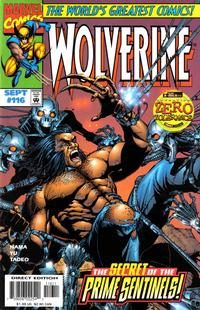 Cover Thumbnail for Wolverine (Marvel, 1988 series) #116 [Direct Edition]