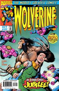 Cover Thumbnail for Wolverine (Marvel, 1988 series) #117 [Direct Edition]