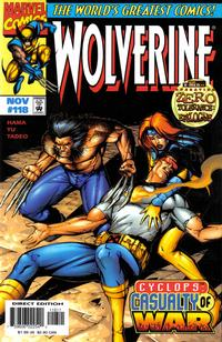 Cover Thumbnail for Wolverine (Marvel, 1988 series) #118 [Direct Edition]
