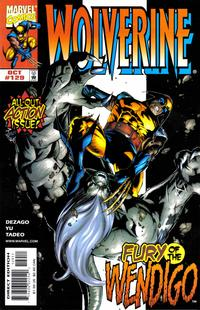 Cover Thumbnail for Wolverine (Marvel, 1988 series) #129 [Direct Edition]