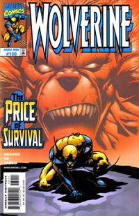 Cover for Wolverine (Marvel, 1988 series) #130 [Direct Edition]
