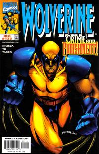 Cover Thumbnail for Wolverine (Marvel, 1988 series) #132 [Direct Edition]