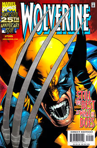 Cover Thumbnail for Wolverine (Marvel, 1988 series) #145 [Silver Foil Enhanced Cover]
