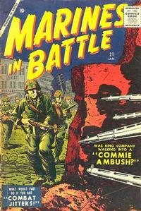 Cover Thumbnail for Marines in Battle (Marvel, 1954 series) #21
