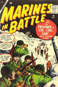 Cover Thumbnail for Marines in Battle (Marvel, 1954 series) #23