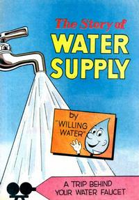 Cover Thumbnail for The Story of Water Supply (Vital Publications, 1964 series) #[nn] [Orange/Pink Box Background]