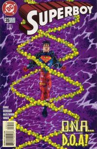 Cover Thumbnail for Superboy (DC, 1994 series) #35 [Direct Sales]