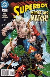 Cover Thumbnail for Superboy (DC, 1994 series) #36 [Direct Sales]