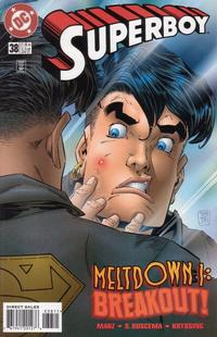 Cover Thumbnail for Superboy (DC, 1994 series) #38 [Direct Sales]