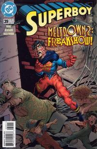 Cover Thumbnail for Superboy (DC, 1994 series) #39 [Direct Sales]