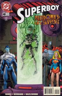 Cover Thumbnail for Superboy (DC, 1994 series) #40 [Direct Sales]
