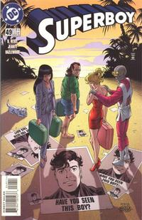 Cover Thumbnail for Superboy (DC, 1994 series) #49 [Direct Sales]