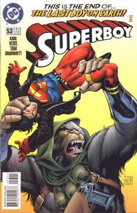 Cover Thumbnail for Superboy (DC, 1994 series) #53 [Direct Sales]