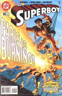 Cover Thumbnail for Superboy (DC, 1994 series) #54 [Direct Sales]