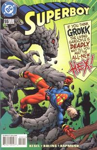 Cover Thumbnail for Superboy (DC, 1994 series) #55 [Direct Sales]