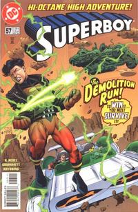 Cover Thumbnail for Superboy (DC, 1994 series) #57 [Direct Sales]