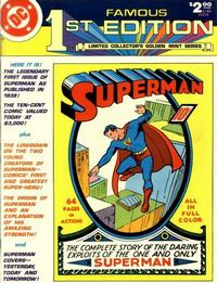 Cover Thumbnail for Famous First Edition (DC, 1974 series) #C-61