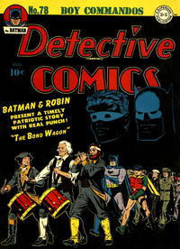 Cover Thumbnail for Detective Comics (DC, 1937 series) #78