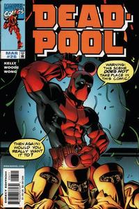 Cover Thumbnail for Deadpool (Marvel, 1997 series) #26 [Direct Edition]