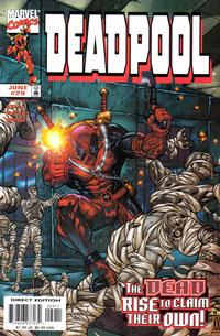 Cover Thumbnail for Deadpool (Marvel, 1997 series) #29 [Direct Edition]