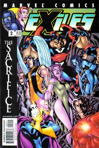 Cover Thumbnail for Exiles (Marvel, 2001 series) #2 [Direct Edition]