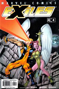 Cover Thumbnail for Exiles (Marvel, 2001 series) #4 [Direct Edition]