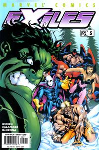 Cover Thumbnail for Exiles (Marvel, 2001 series) #5 [Direct Edition]