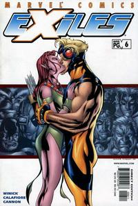 Cover Thumbnail for Exiles (Marvel, 2001 series) #6 [Direct Edition]