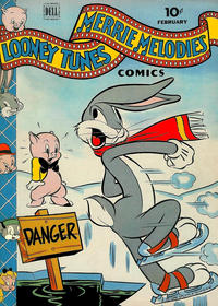Cover Thumbnail for Looney Tunes and Merrie Melodies Comics (Dell, 1941 series) #28
