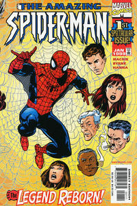 Cover Thumbnail for The Amazing Spider-Man (Marvel, 1999 series) #1 [Direct Edition]