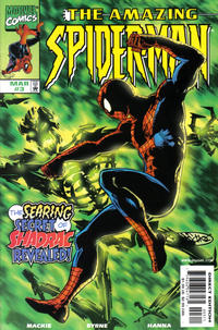 Cover Thumbnail for The Amazing Spider-Man (Marvel, 1999 series) #3 [Direct Edition]