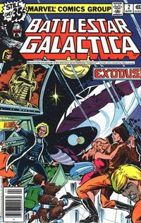 Cover Thumbnail for Battlestar Galactica (Marvel, 1979 series) #2 [Regular Edition]