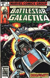 Cover Thumbnail for Battlestar Galactica (Marvel, 1979 series) #4 [Direct Edition]