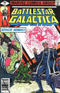 Cover Thumbnail for Battlestar Galactica (Marvel, 1979 series) #9 [Direct Edition]