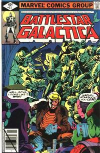 Cover Thumbnail for Battlestar Galactica (Marvel, 1979 series) #11 [Direct Edition]