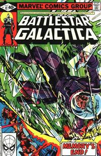 Cover Thumbnail for Battlestar Galactica (Marvel, 1979 series) #12 [Direct Edition]
