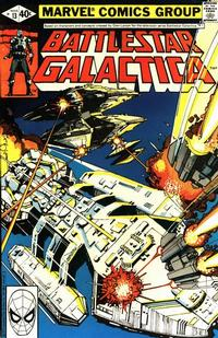 Cover Thumbnail for Battlestar Galactica (Marvel, 1979 series) #13 [Direct Edition]