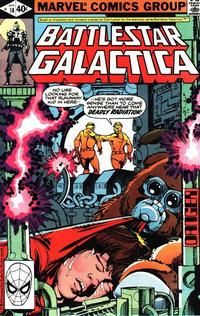 Cover Thumbnail for Battlestar Galactica (Marvel, 1979 series) #14 [Direct Edition]