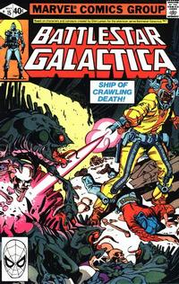 Cover Thumbnail for Battlestar Galactica (Marvel, 1979 series) #15 [Direct Edition]