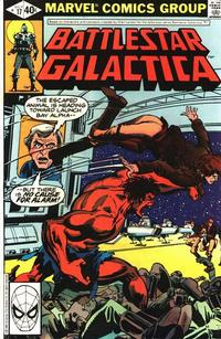 Cover Thumbnail for Battlestar Galactica (Marvel, 1979 series) #17 [Direct Edition]