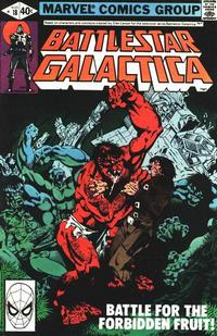 Cover Thumbnail for Battlestar Galactica (Marvel, 1979 series) #18 [Direct Edition]
