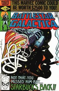 Cover Thumbnail for Battlestar Galactica (Marvel, 1979 series) #19 [Direct Edition]