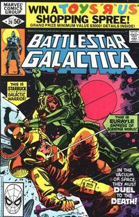 Cover Thumbnail for Battlestar Galactica (Marvel, 1979 series) #20 [Direct Edition]