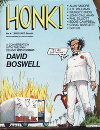 Cover Thumbnail for Honk! (Fantagraphics, 1986 series) #4