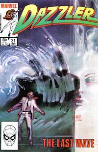 Cover Thumbnail for Dazzler (Marvel, 1981 series) #31 [Direct Edition]