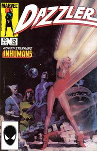 Cover Thumbnail for Dazzler (Marvel, 1981 series) #32 [Direct Edition]