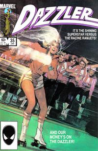 Cover Thumbnail for Dazzler (Marvel, 1981 series) #35 [Direct Edition]
